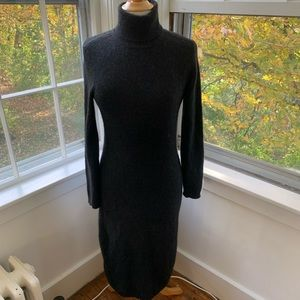 LAUREN RALPH LAUREN cashmere turtleneck maxi dress